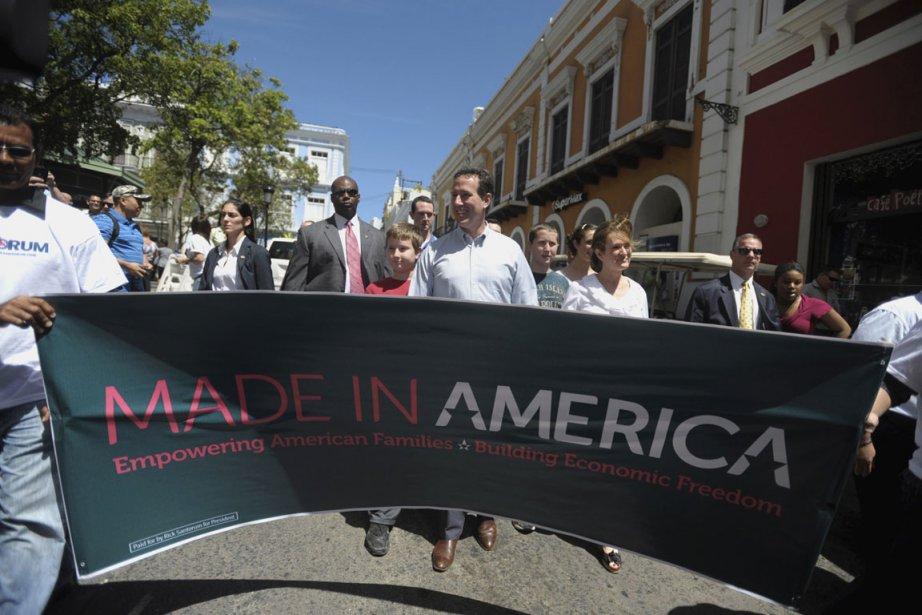 Rick Santorum, candidat à l'investiture républicaine pour la... (Photo Reuters)