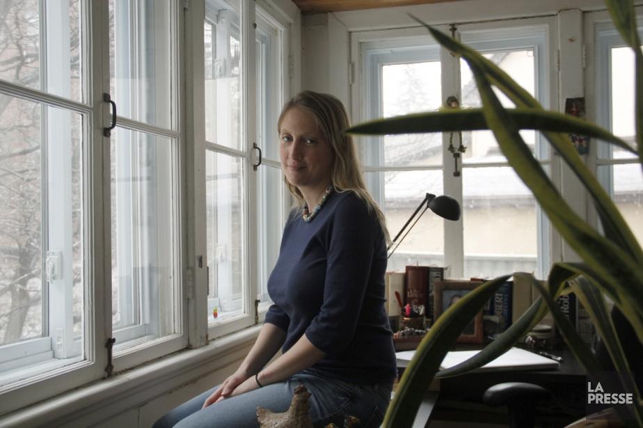 Rafaële Germain, auteure de trois romans de chick... (Photo: Martin Chamberland, archives La Presse)