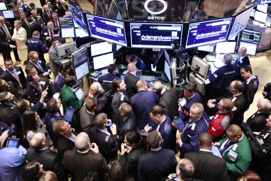L'indice composé S&P/TSX a avancé de 41,14 points... (Photo AP)