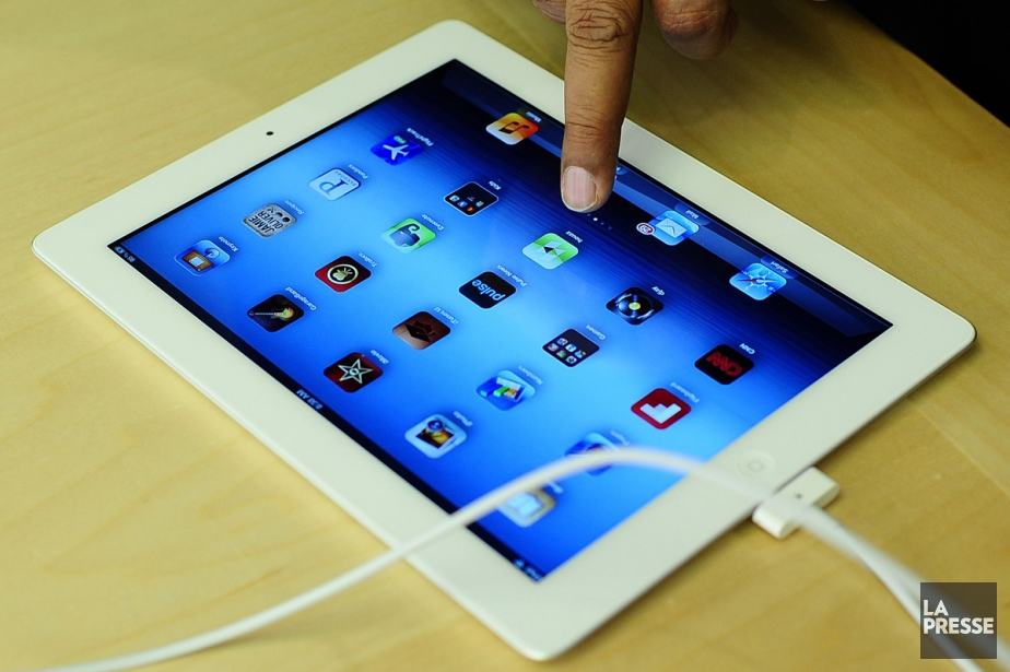 Un «nouvel» iPad.... (Photo: AFP)