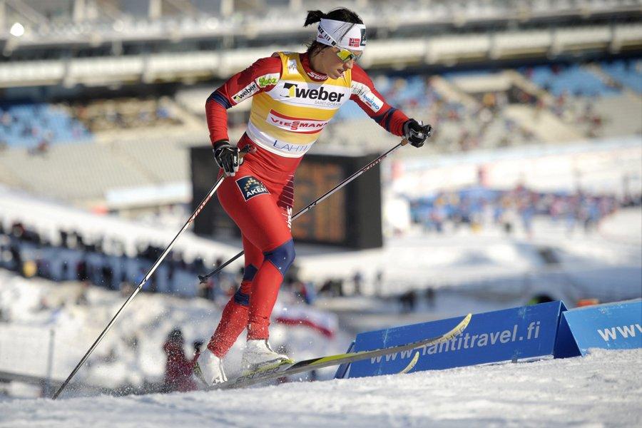 Marit Bjorgen... (Photo: Reuters)