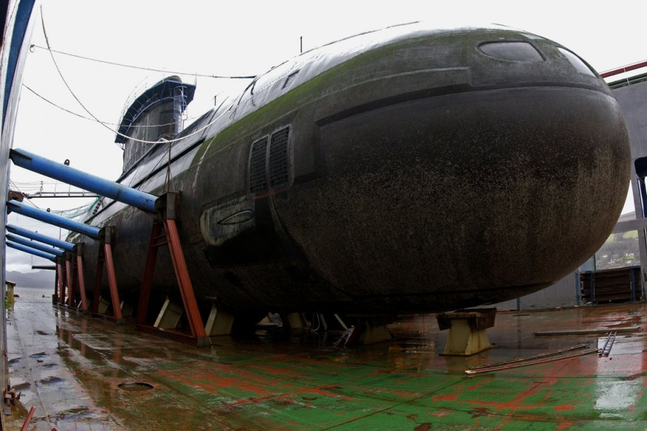 La flotte de sous-marins à propulsion classique a... (Photo: Archives AFP)