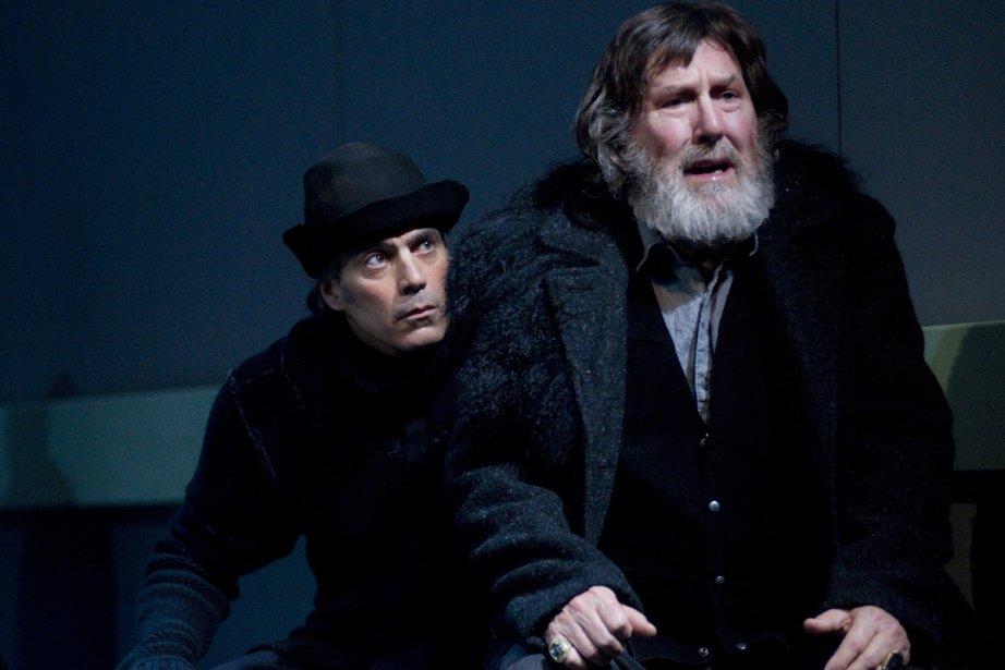 Pivot de la pièce, Gilles Renaud (à droite)... (Photo fournie par le TNM)