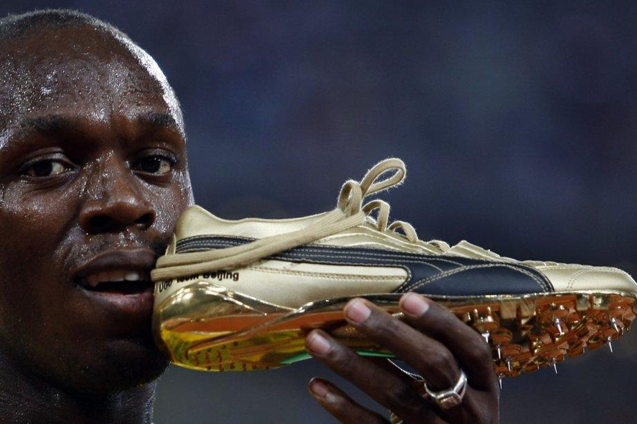 Sur la piste de Kingston, Bolt a déjà... (Photo : Hans Deryk, Reuters)