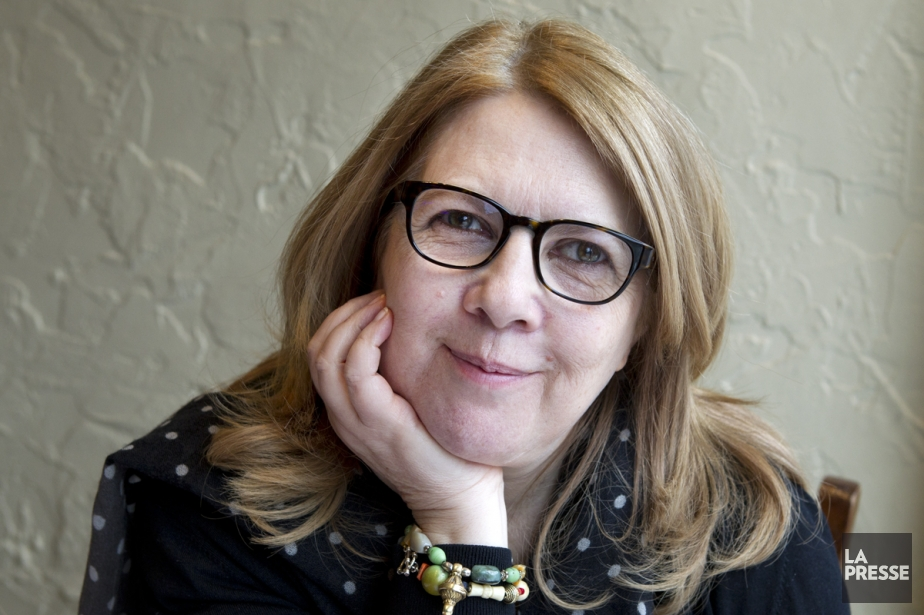 Toute la création poétique de Louise Warren, 16... (Photo: Robert Skinner, archives La Presse)