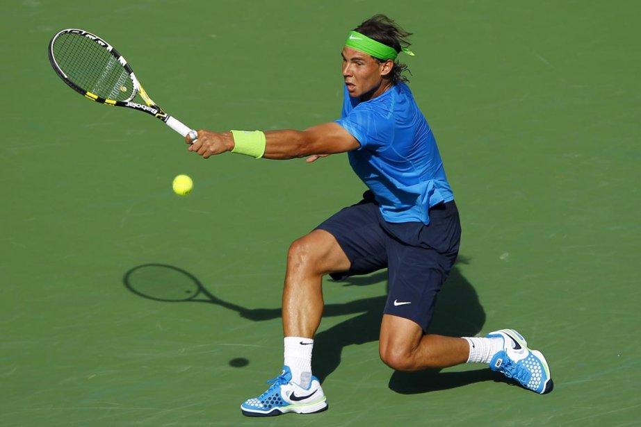 Après 2 h 40 min d'effort, Nadal a... (Photo : Mike Blake, Reuters)