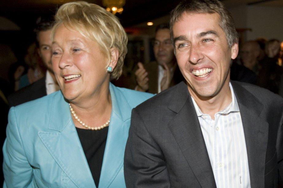 La première ministre Pauline Marois et le ministre... (Photo André Pichette, La Presse)