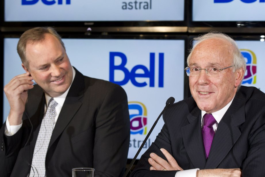 George Cope et Ian Greenberg.... (Photo La Presse Canadienne)