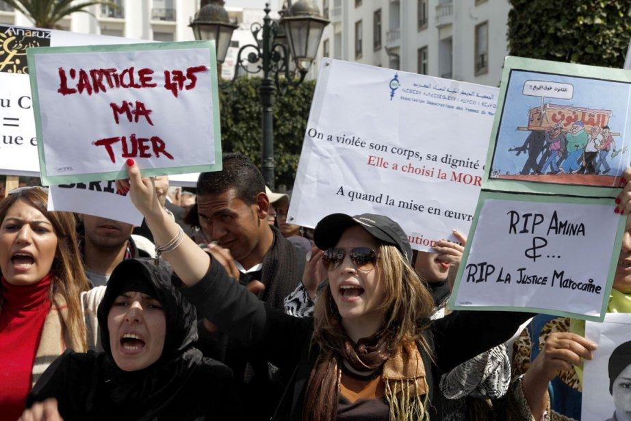 Une semaine jour pour jour après le suicide d'une adolescente... (Photo AFP)