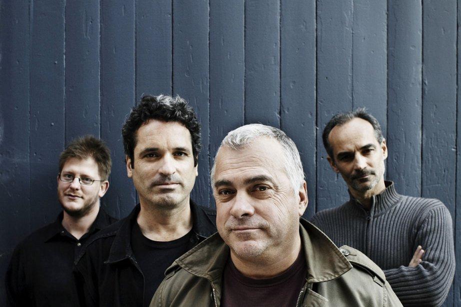 Alain Bédard et l'Auguste Quartet.... (Photo fournie par le festival Jazz en rafale)