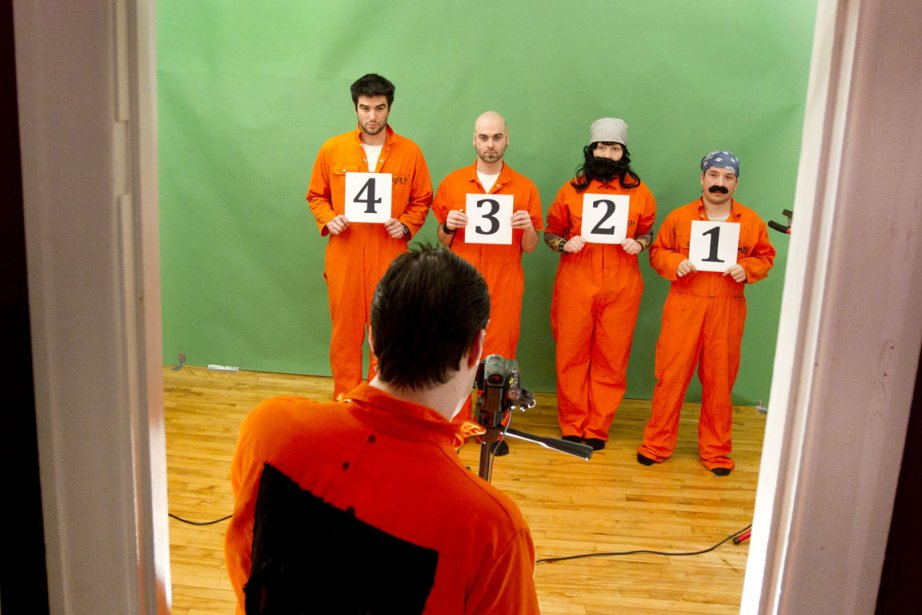 Tournage de la websérie Plein mon cass.... (Photo Robert Skinner, La Presse)