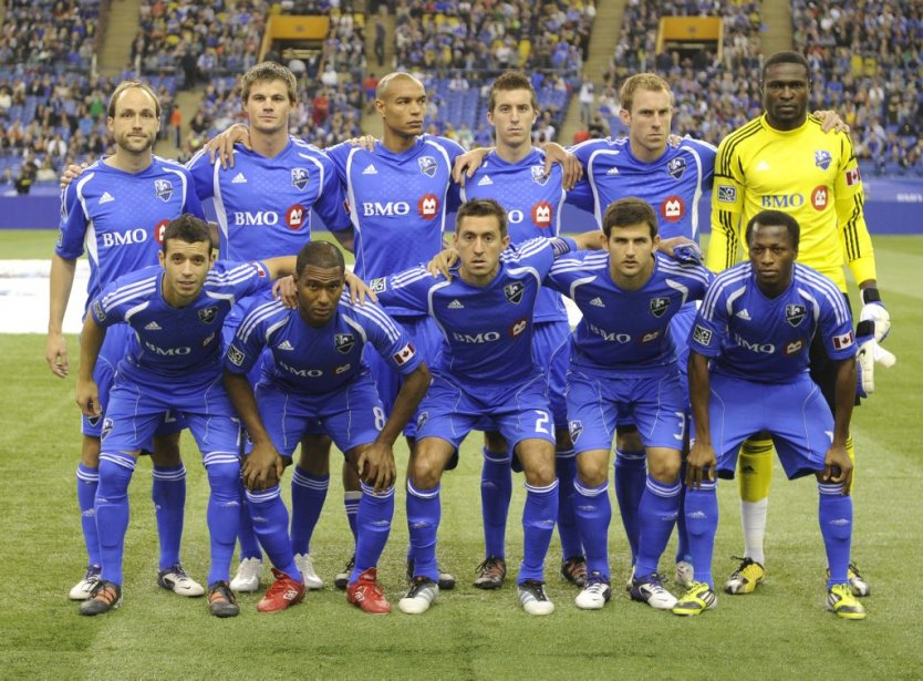 Le onze partant de l'Impact face au Fire de Chicago. | 17 mars 2012