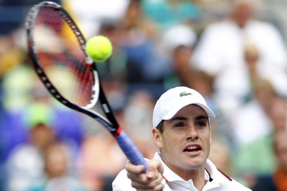 John Isner, 26 ans, a remporté trois de... (Photo : Mike Blake, Reuters)