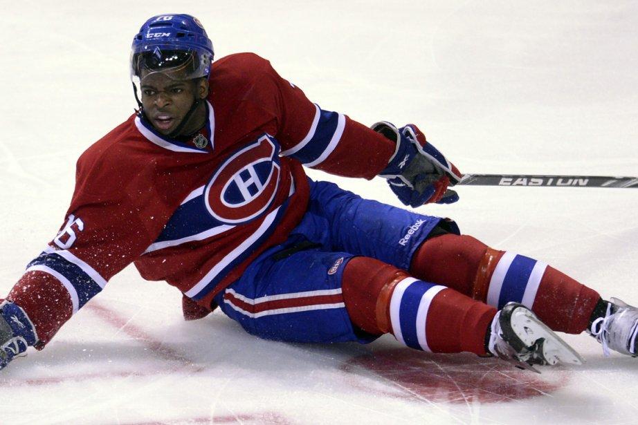 P.K. Subban était le seul membre du Canadien... (Photo : Bernard Brault, La Presse)