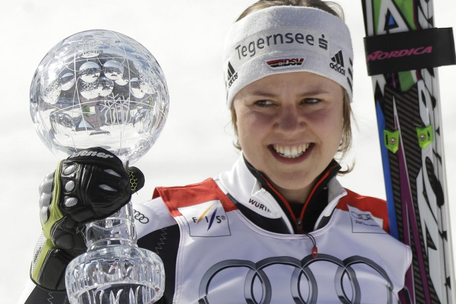 Viktoria Rebensburg... (Photo Reuters)