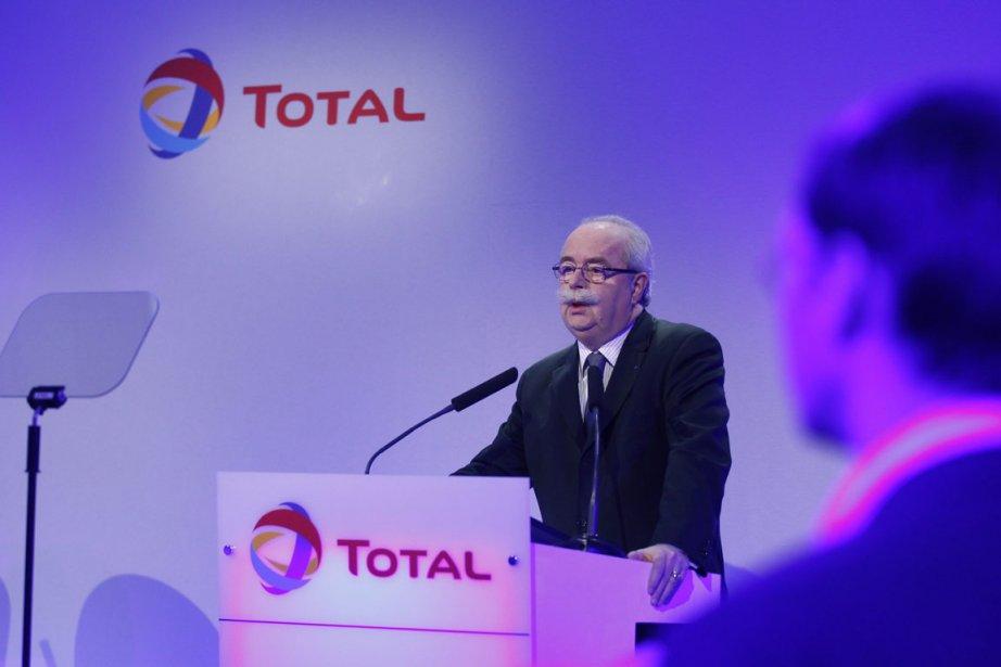 Christophe de Margerie, directeur général de Total.... (Photo Reuters)