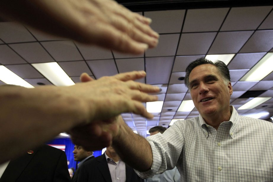 Mitt Romney a raflé les 20 délégués de... (Photo Reuters)