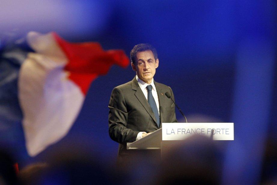 Nicolas Sarkozy... (Photo AP)