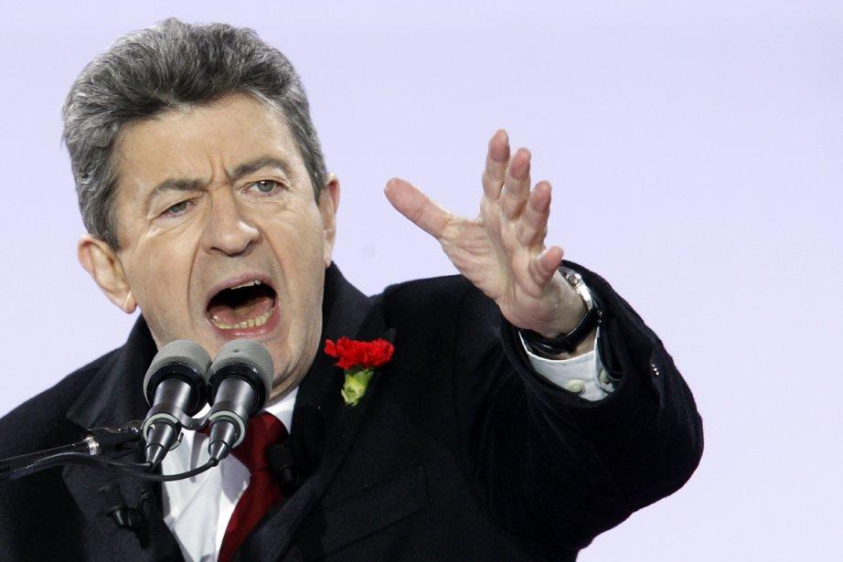 Le candidat de l'extrême gauche Jean-Luc Mélenchon, qui... (Photo: Thomas Samson, AFP)
