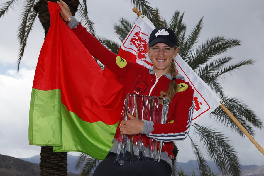Victoria Azarenka a remporté le tournoi d'Indian Wells,... (Photo: Reuters)