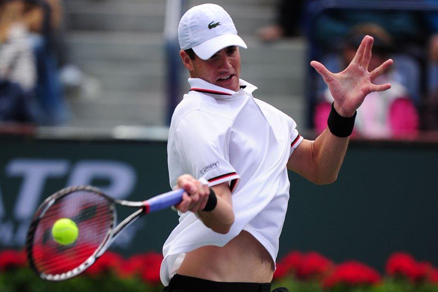 John Isner a atteint la finale du récent... (Photo: AFP)