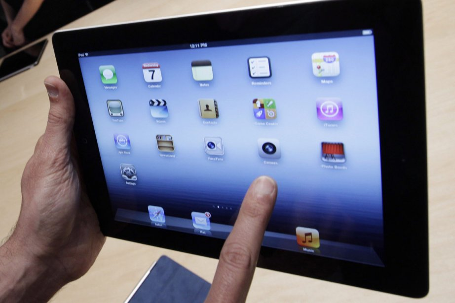 Un iPad.... (Photo: PC/AP)