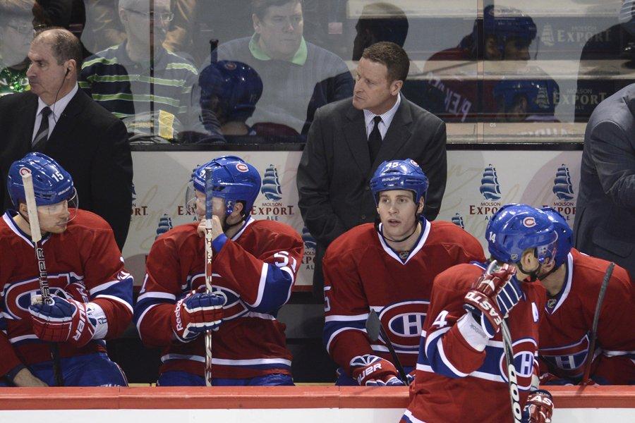 Les joueurs du Canadien sont maintenant résignés et... (Photo: Bernard Brault, La Presse)