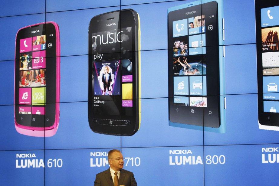 Nokia propose déjà à sa clientèle des téléphones... (Photo: Reuters)