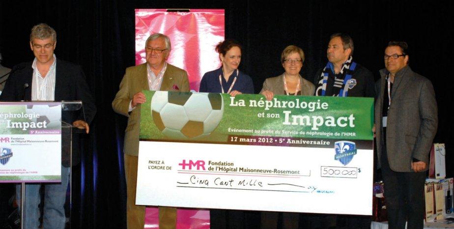 Le Dr Vincent Pichette, Jean Claude Baudinet, le...