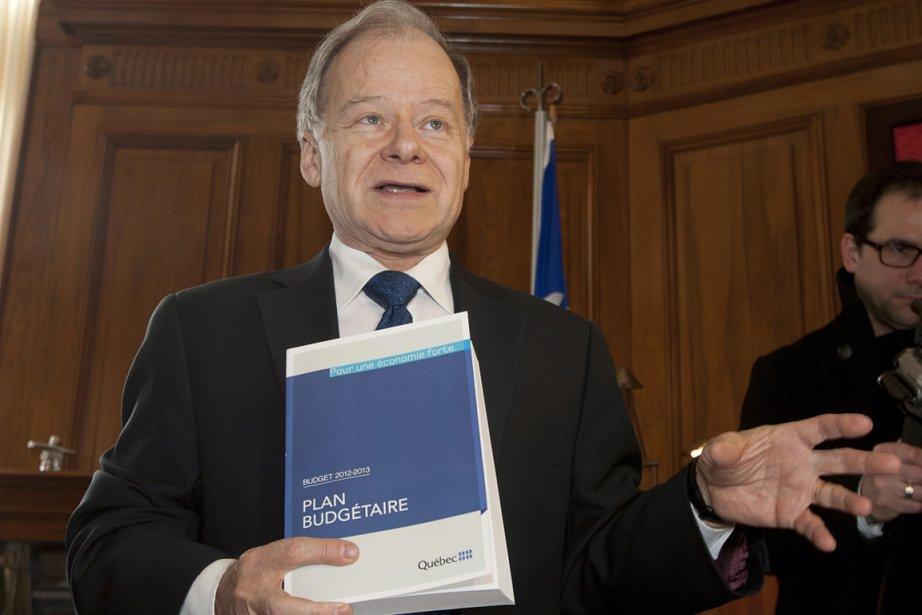 Ce budget, qu'il promet «costaud», sera tourné vers... (Photo : Jacques Boissinot, La Presse Canadienne)