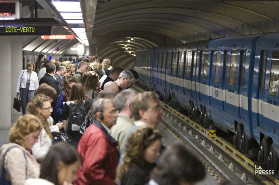 En 2011, les rames du métro de Montréal... (Photo: Ivanoh Demers, Archives La Presse)