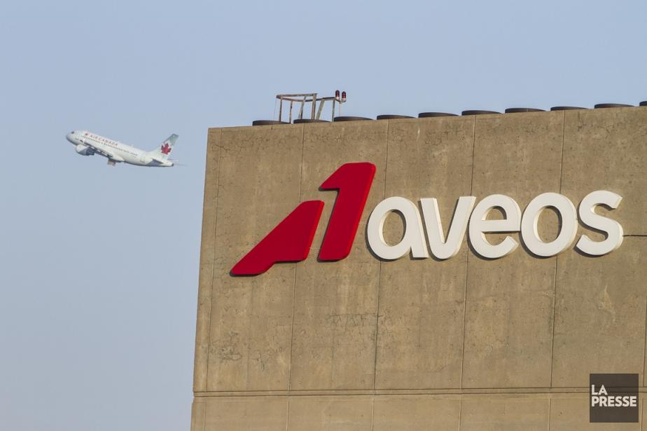 La société de maintenance d'avions Aveos rejette la... (PHOTO OLIVIER PONTBRIAND, ARCHIVES LA PRESSE)