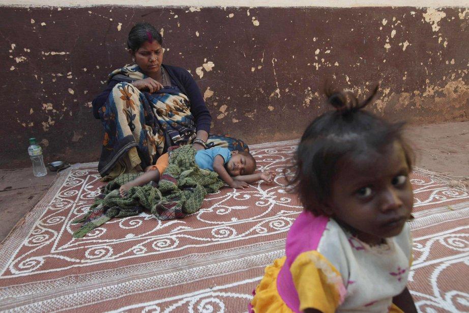 L'État indien soutient que la misère diminue dans... (Photo: Adnan Abidi, Reuters)