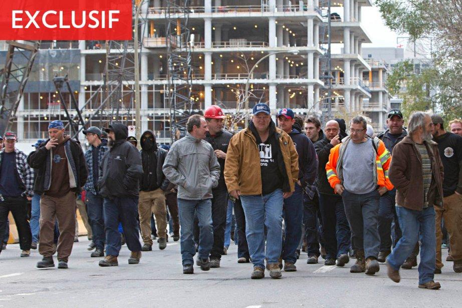 La FTQ représente près de 45% des travailleurs... (Photo: Patrick Sanfaçon, Archives La Presse)