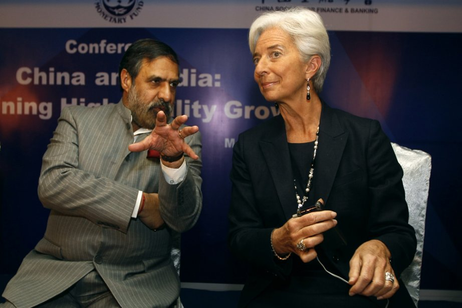 S'exprimant lors d'une conférence à New Delhi, Mme... (Photo Associated Press)