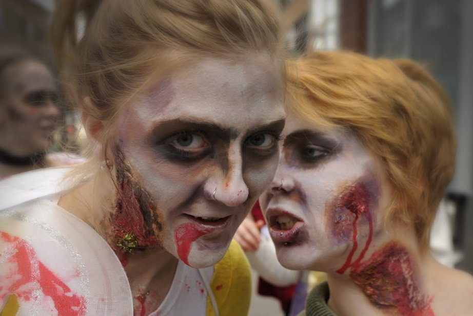 «Le zombie est l'esclave absolu. On le force... (Photo: Bernard Brault, Archives La Presse)