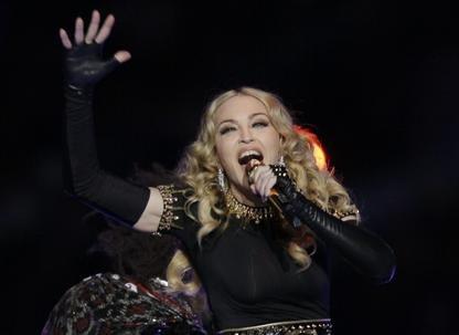 Madonna... (Archives AP)