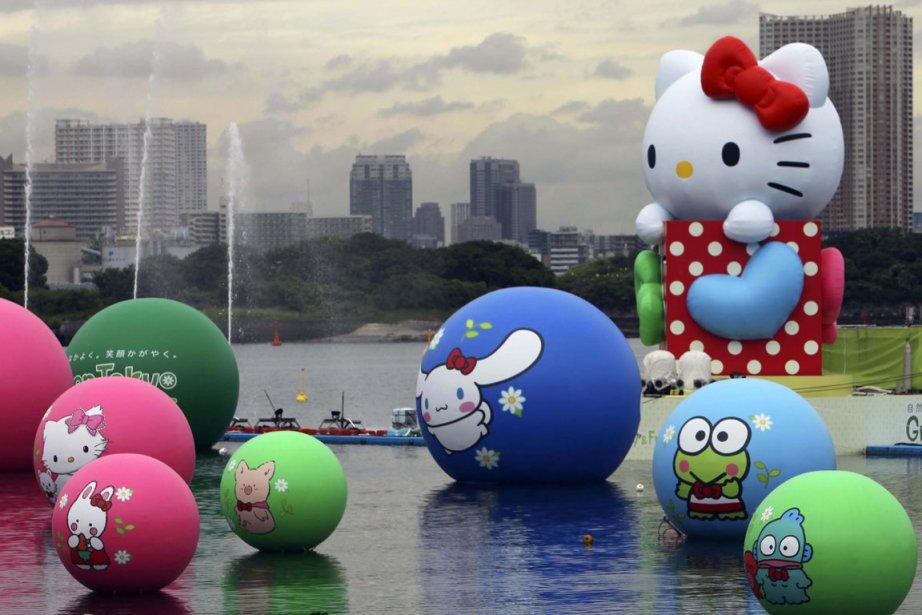 Hello Kitty serait-elle confrontée à la crise de la quarantaine?... (Photo AP)
