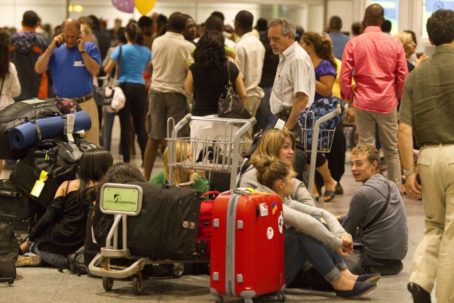 Le nombre de voyages entrepris par les... (Photo André Pichette, La Presse)