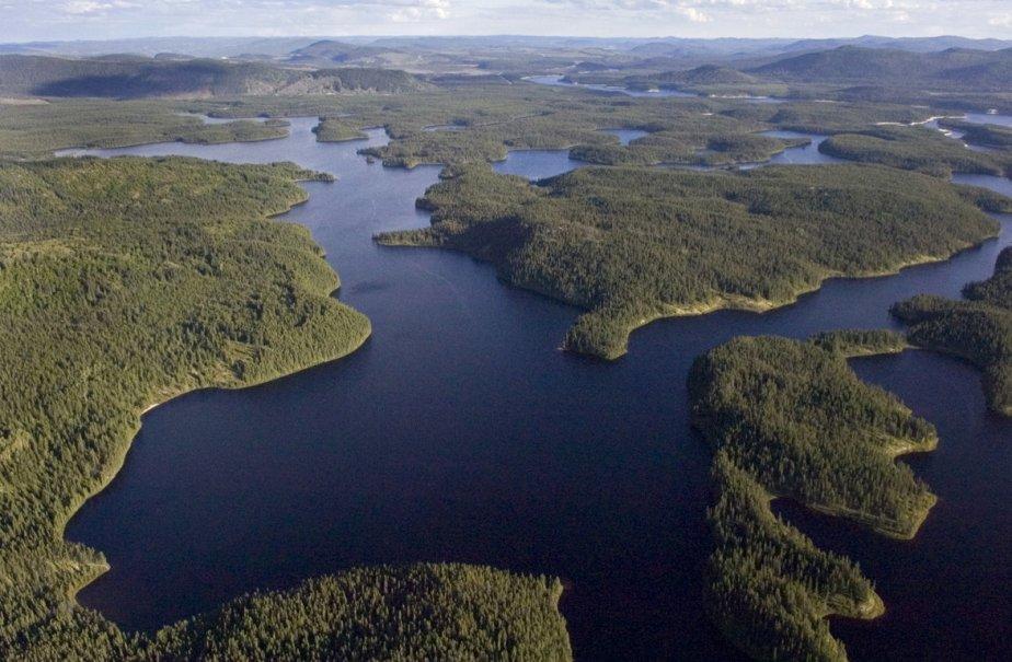 Réservoir Caniapiscau, dans la région de Fermont, au... (Photo: Ivanoh Demers, La Presse (Archives))