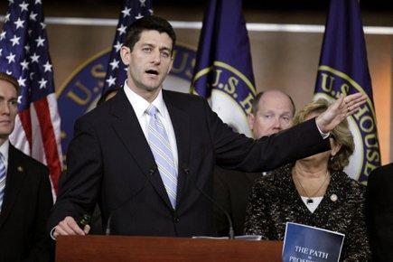 Le président républicain de la commission du budget,Paul... (Photo: Reuters)