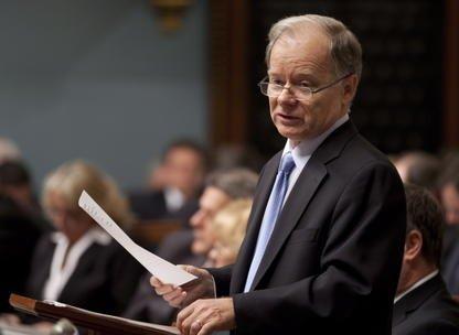 Le ministre des Finances Raymond Bachand.... (Photo PC)