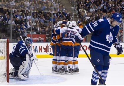 Matt Moulson a marqué à 13:56 au troisième vingt et les Islanders... (Photo: PC)