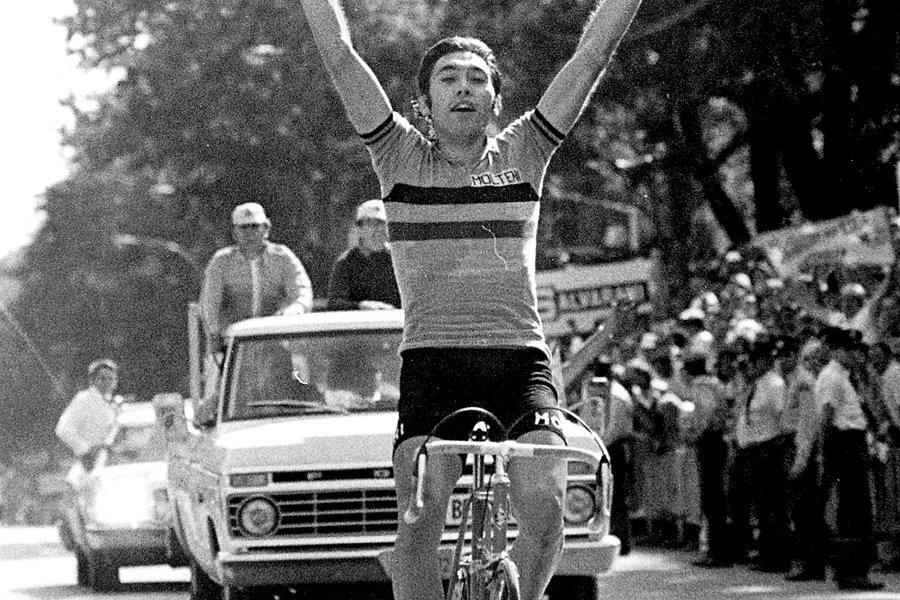 Eddy Merckx a remporté le Tour de France... (Photo: Robert Nadon, archives La Presse)