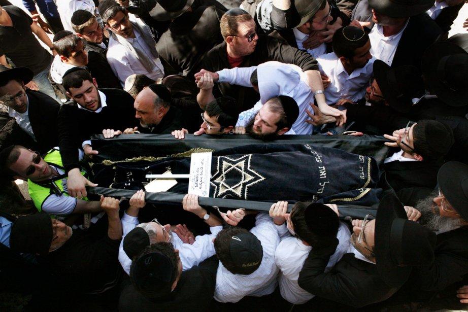 Le corps de la petite Miriam Monsoneg, 7... (Photo: Gali Tibbon, AFP)