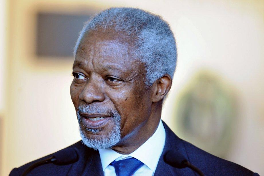 L'envoyé spécial conjoint de l'ONU et de la... (Photo: Philippe Merle, Archives AFP)