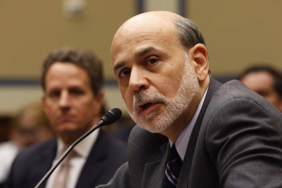 Ben Bernanke, le président de la Réserve fédérale... (Photo Reuters)