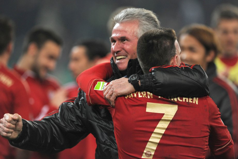 L'équipe de Jupp Heynckes a dû attendre la... (Photo : Patrik Stollarz, AFP)