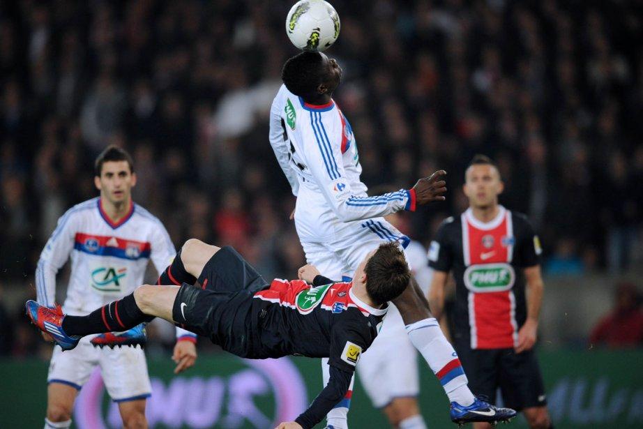 Lyon s'est ouvert une voie   royale... (Photo : Franck Fife, AFP)
