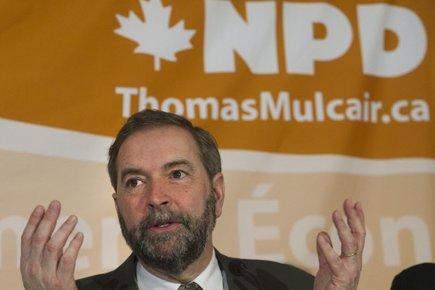 Thomas Mulcair... (Photo: PC)